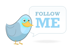 Free twitter badge