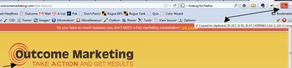 Webmaster Tools - Colorzilla