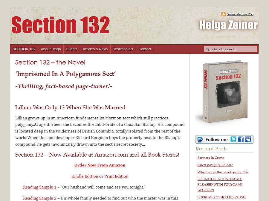 Section 132 - new website