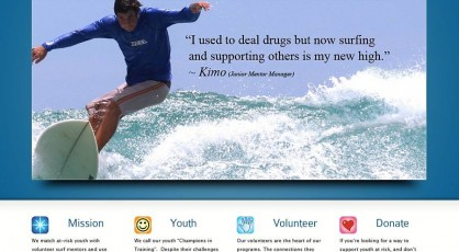 Surfrider Spirit Sessions New Website