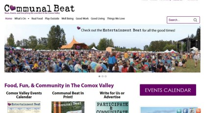 Communal Beat website