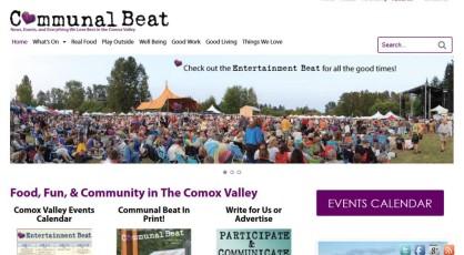 Communal Beat website